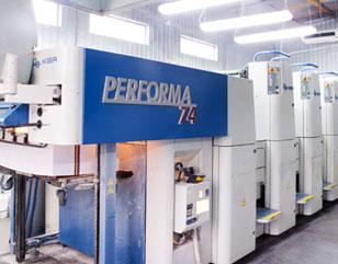 Печатный станок KBA PERFORMA 74-4